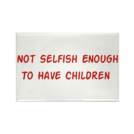 No Breeder Ego Rectangle Magnet (100 pack)