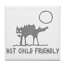 Not Child Friendly Tile Coaster