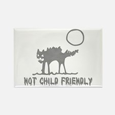 Not Child Friendly Rectangle Magnet