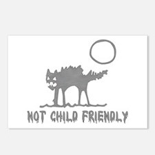 Not Child Friendly Postcards (Package of 8)
