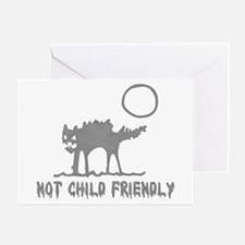 Not Child Friendly Greeting Card