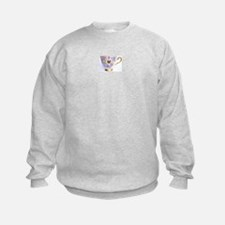 Pansy Teaparty Sweatshirt