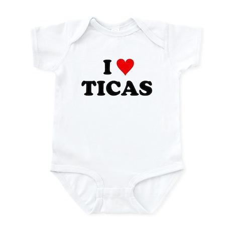 I Love Ticas Infant Bodysuit