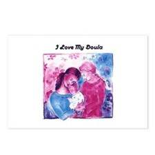 Doula Postcards (Package of 8)