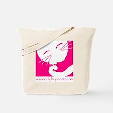 Pink Sleepy Cat Tote Bag