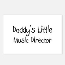 Daddy's Little Music Director Postcards (Package o