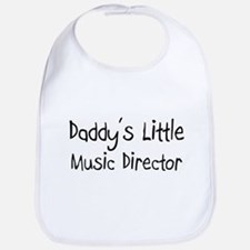 Daddy's Little Music Director Bib