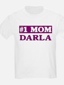 Darla - Number 1 Mom T-Shirt