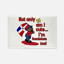 Not only am I cute I'm Dominican too! Rectangle Ma