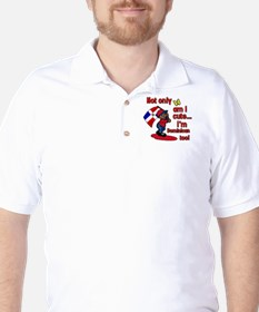 Not only am I cute I'm Dominican too! Golf Shirt