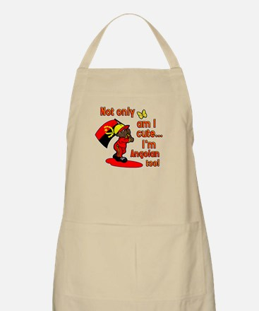 Not only am I cute I'm Angolan too! BBQ Apron