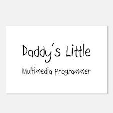 Daddy's Little Multimedia Programmer Postcards (Pa