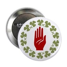 "2.25"" Ulster Irish Button (10 pack)"