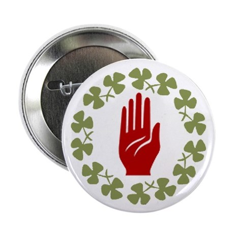 "2.25"" Ulster Irish Button (10 pack)"