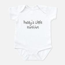 Daddy's Little Mortician Infant Bodysuit