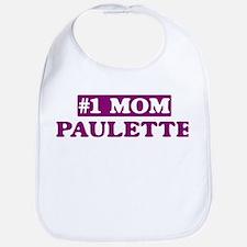 Paulette - Number 1 Mom Bib