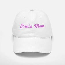 Cora Mom (pink) Baseball Baseball Cap