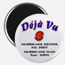 Hurricane Deja Vu Magnet