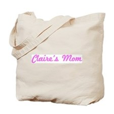 Claire Mom (pink) Tote Bag
