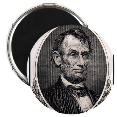 Abe Lincoln portrait Magnet