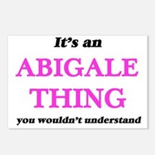 It's an Abigale thing Postcards (Package of 8)