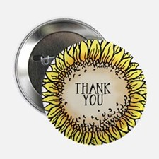 Thank You Flower Button