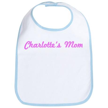Charlotte Mom (pink) Bib