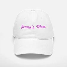 Jenna Mom (pink) Baseball Baseball Cap