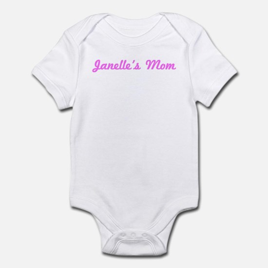 Janelle Mom (pink) Infant Bodysuit