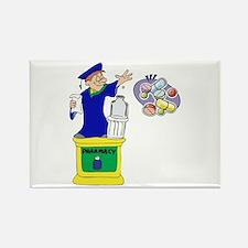 Magical Pharmacist Graduate Rectangle Magnet