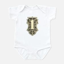 """THE ONE"" $1 dollar logo Infant Bodysuit"