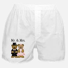 Wedding Couple Boxer Shorts
