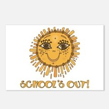 School's Out Sunshine! Postcards (Package of 8)