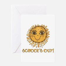 School's Out Sunshine! Greeting Card