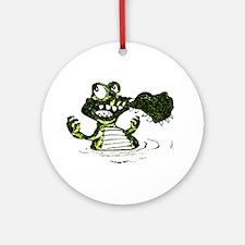 Gator t-shirt shop Ornament (Round)