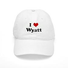 I Love Wyatt Baseball Cap