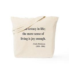 Emily Dickinson 20 Tote Bag