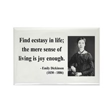 Emily Dickinson 20 Rectangle Magnet