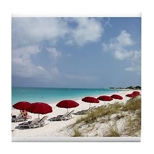 Labadee Beach Tile Coaster