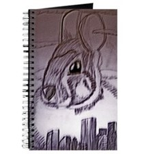 Creepy Bunny Journal