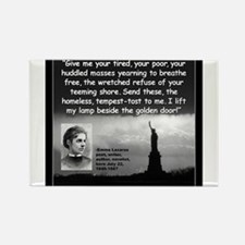 Lazarus Liberty Quote 2 Magnets