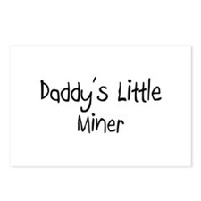 Daddy's Little Miner Postcards (Package of 8)