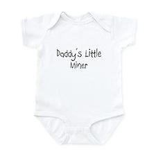 Daddy's Little Miner Onesie