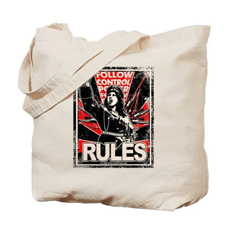 RULES 2 Distressed Tote Bag