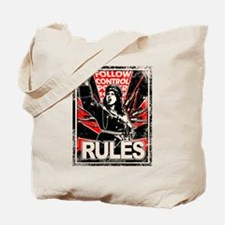 RULES 2 Distressed Tote Bag