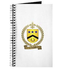 d'ALLARD Family Crest Journal