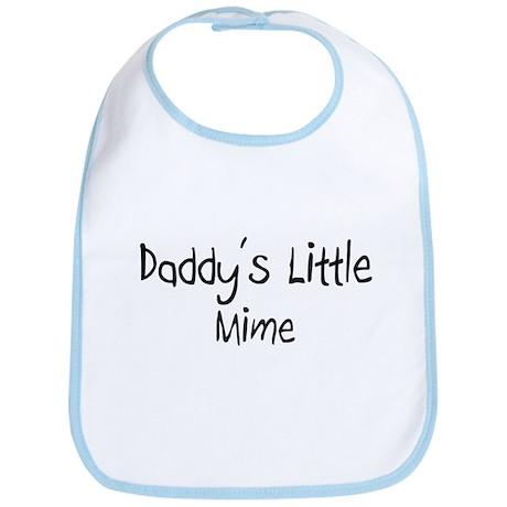 Daddy's Little Mime Bib