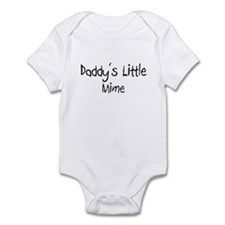 Daddy's Little Mime Infant Bodysuit