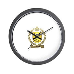 d'ALLARD Family Crest Wall Clock