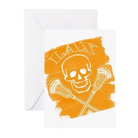 Lacrosse Brushed Greeting Cards (Pk of 20)
